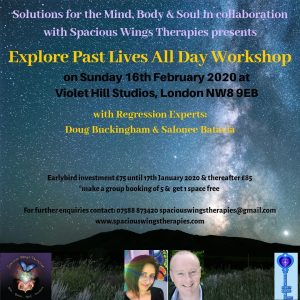 Past Lives Workshop 16/2/20